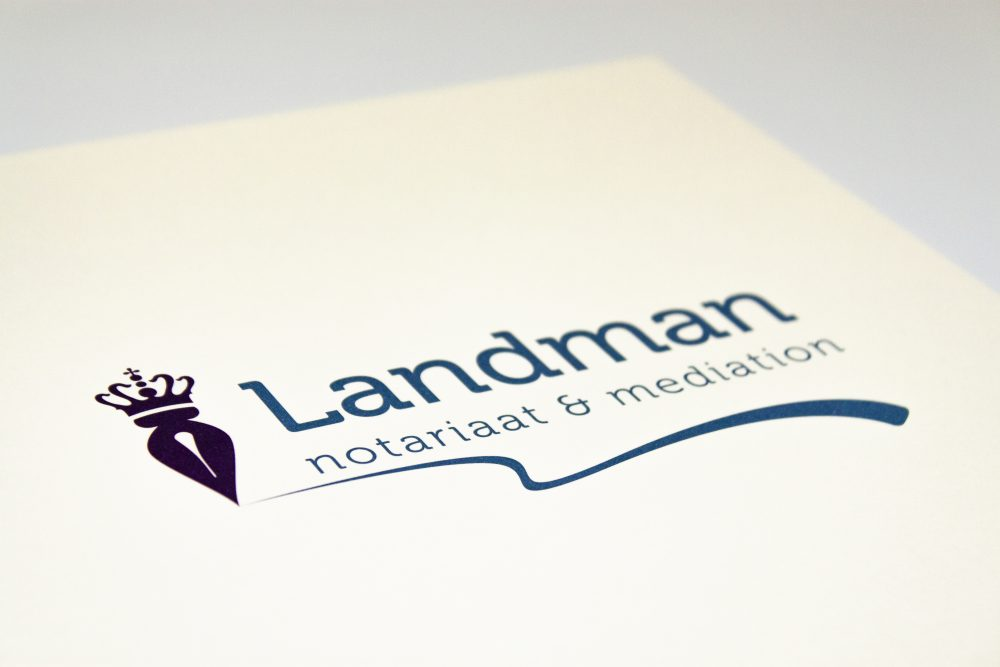 Landman logo ontwerp